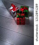 close up view  of  gift boxes ... | Shutterstock . vector #1212891289