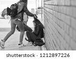 schoolyard bullies  later...   Shutterstock . vector #1212897226