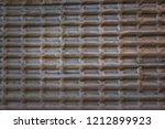 vintage texture of durable foil ... | Shutterstock . vector #1212899923