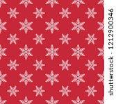 snowflake  christmas seamless... | Shutterstock .eps vector #1212900346