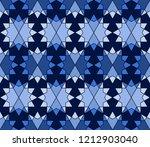 geometric seamless pattern....   Shutterstock .eps vector #1212903040