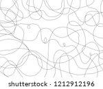 pen lines black.black lines... | Shutterstock . vector #1212912196