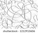 pencil black lines.pencil... | Shutterstock . vector #1212913606