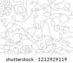 pencil lines on white... | Shutterstock . vector #1212929119