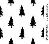 seamless pattern with black... | Shutterstock .eps vector #1212933199