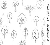 seamless pattern of hand drawn... | Shutterstock .eps vector #1212934969