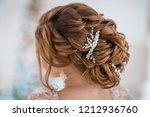 hairstyle rear view | Shutterstock . vector #1212936760