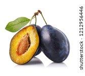 useful fruits  three ripe...   Shutterstock . vector #1212956446