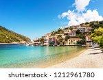 mediterranean architecture and... | Shutterstock . vector #1212961780