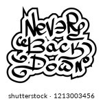 modern graffiti tags... | Shutterstock .eps vector #1213003456