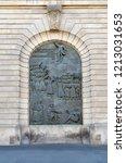 karl liebknecht proclaims the... | Shutterstock . vector #1213031653