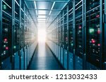data center background business ... | Shutterstock . vector #1213032433
