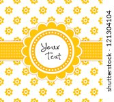 Vector Greeting Card Template...