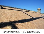 roofing construction. roofing... | Shutterstock . vector #1213050109