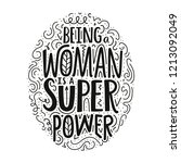 lettering illustration with... | Shutterstock .eps vector #1213092049