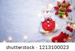 light and christmas decoration... | Shutterstock . vector #1213100023