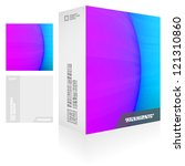 vector packaging box. abstract... | Shutterstock .eps vector #121310860