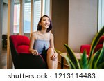 a young  slim and elegant asian ... | Shutterstock . vector #1213114483