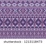 navajo american indian pattern... | Shutterstock .eps vector #1213118473