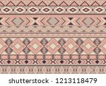 indian pattern tribal ethnic... | Shutterstock .eps vector #1213118479