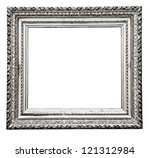 Vintage Silver  Frame  Isolate...