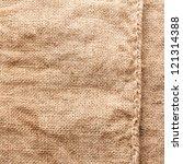 burlap texture | Shutterstock . vector #121314388
