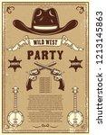 country music festival poster... | Shutterstock .eps vector #1213145863
