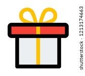 present box  holiday season | Shutterstock .eps vector #1213174663