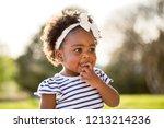 happy african american little...   Shutterstock . vector #1213214236