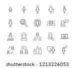 women vector icons   Shutterstock .eps vector #1213226053