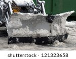 Winter Snow Removal Tractor On...
