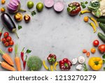 healthy eating background.... | Shutterstock . vector #1213270279