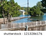 historic flooding leaves entire ... | Shutterstock . vector #1213286176