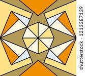 geometric ornament  seamless...   Shutterstock .eps vector #1213287139