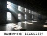 sunlight shining throuh the... | Shutterstock . vector #1213311889