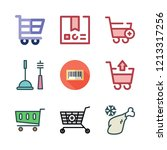 product icon set. vector set... | Shutterstock .eps vector #1213317256