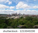 saint paul city  minnesota usa... | Shutterstock . vector #1213343230