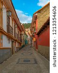 la paz  bolivia   october 21 ... | Shutterstock . vector #1213354606