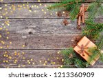 holiday card for the new year... | Shutterstock . vector #1213360909