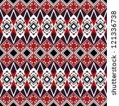 ethnic pattern | Shutterstock .eps vector #121336738