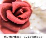 Closeup Of Potpourri Sacks Rose