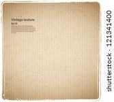 vintage cardboard texture | Shutterstock .eps vector #121341400
