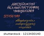 russian  ukrainian  belarusian... | Shutterstock .eps vector #1213430140