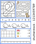 coloring  tracking  matching... | Shutterstock .eps vector #1213459789