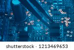 smd electronic components... | Shutterstock . vector #1213469653