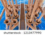 production casing and tubing in ...   Shutterstock . vector #1213477990