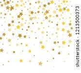 colorful stars confetti ... | Shutterstock .eps vector #1213500373