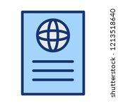 passport   id  ticket     Shutterstock .eps vector #1213518640