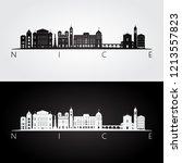 nice skyline and landmarks...   Shutterstock .eps vector #1213557823