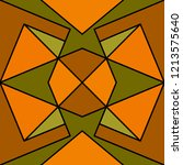 geometric seamless pattern....   Shutterstock .eps vector #1213575640